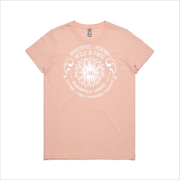 I am Strong Pink Shirt